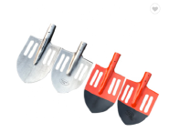 russia type Mn50 carton steel railway steel varnish painted point round shovel with holes made in china