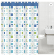 New Design polyester printing shower curtain