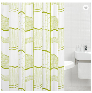 180X180CM marvelous beauty polyester shower curtain