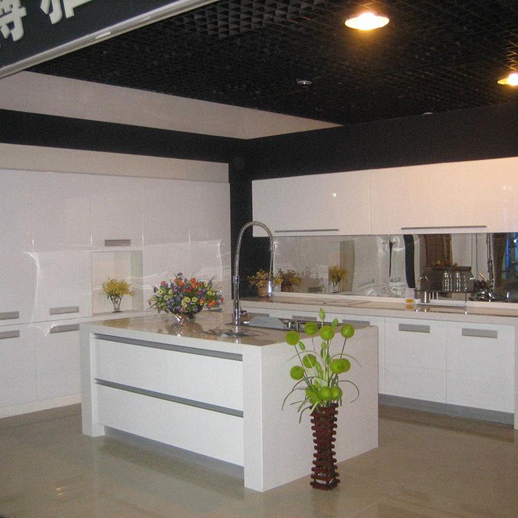 Modern popular aluminum framed frosted glass kitchen ...