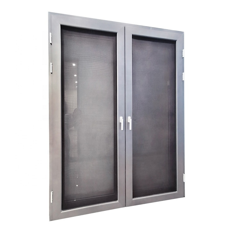 Modern standard sizes aluminum glass casement window