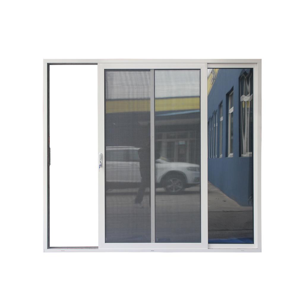 High quality custom size pvc glass sliding window