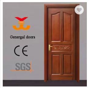 100% solid wood 5-panel interior doors