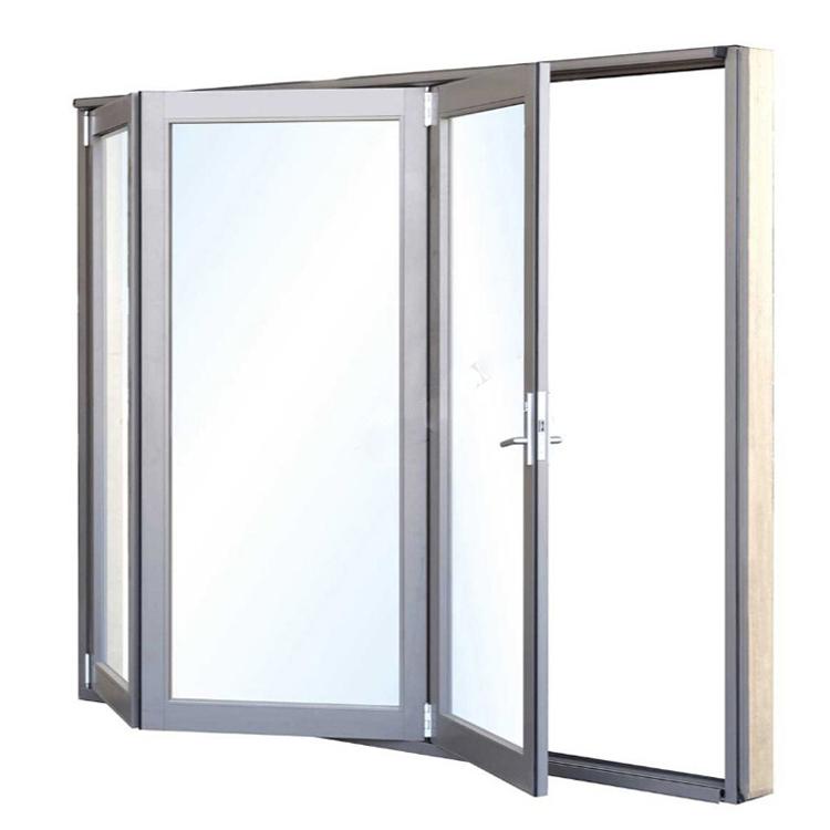 Aluminium bI folding patio door