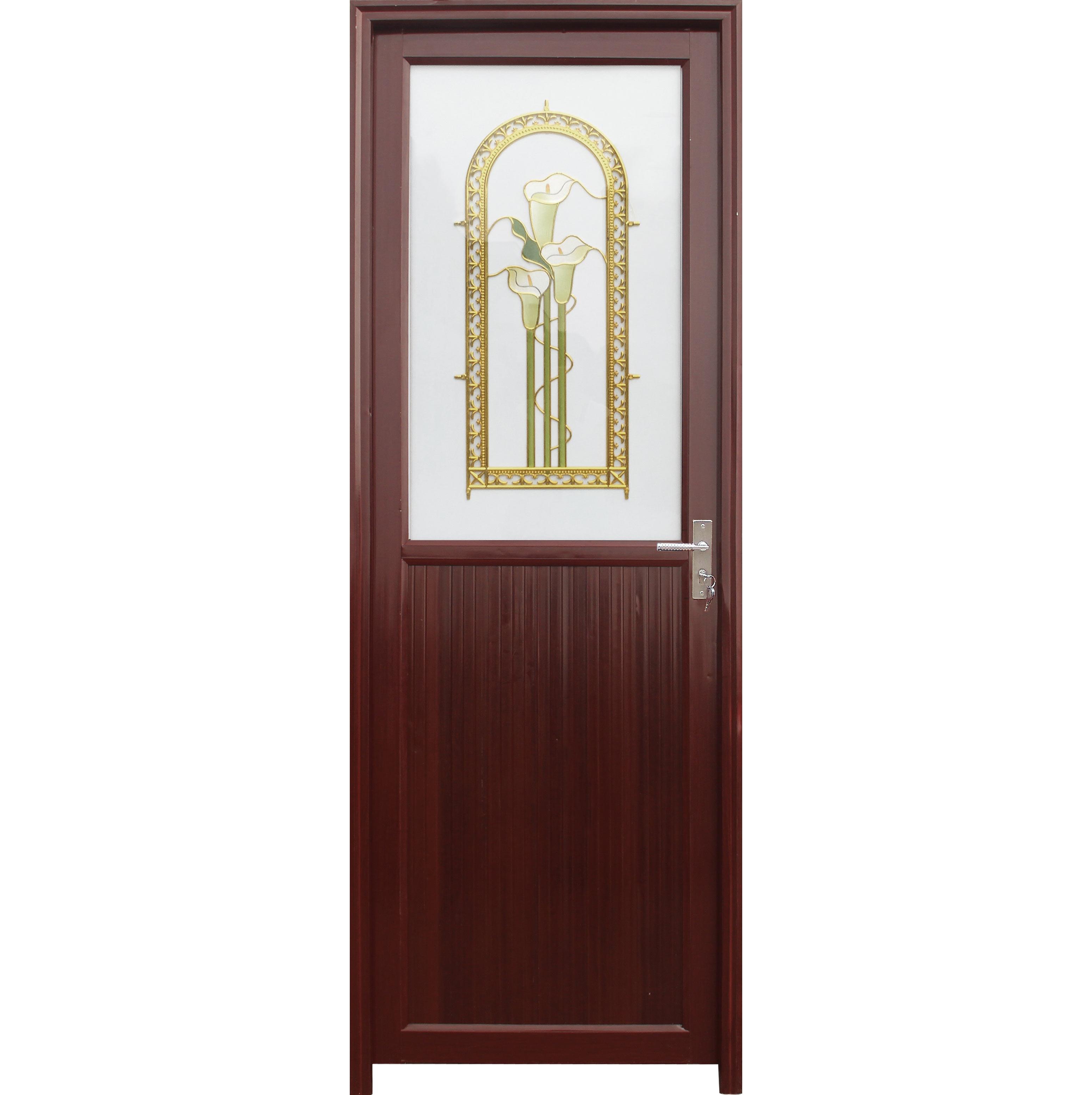 low price almunium profile bathroom door
