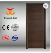 CE veneer faced simple design flush door