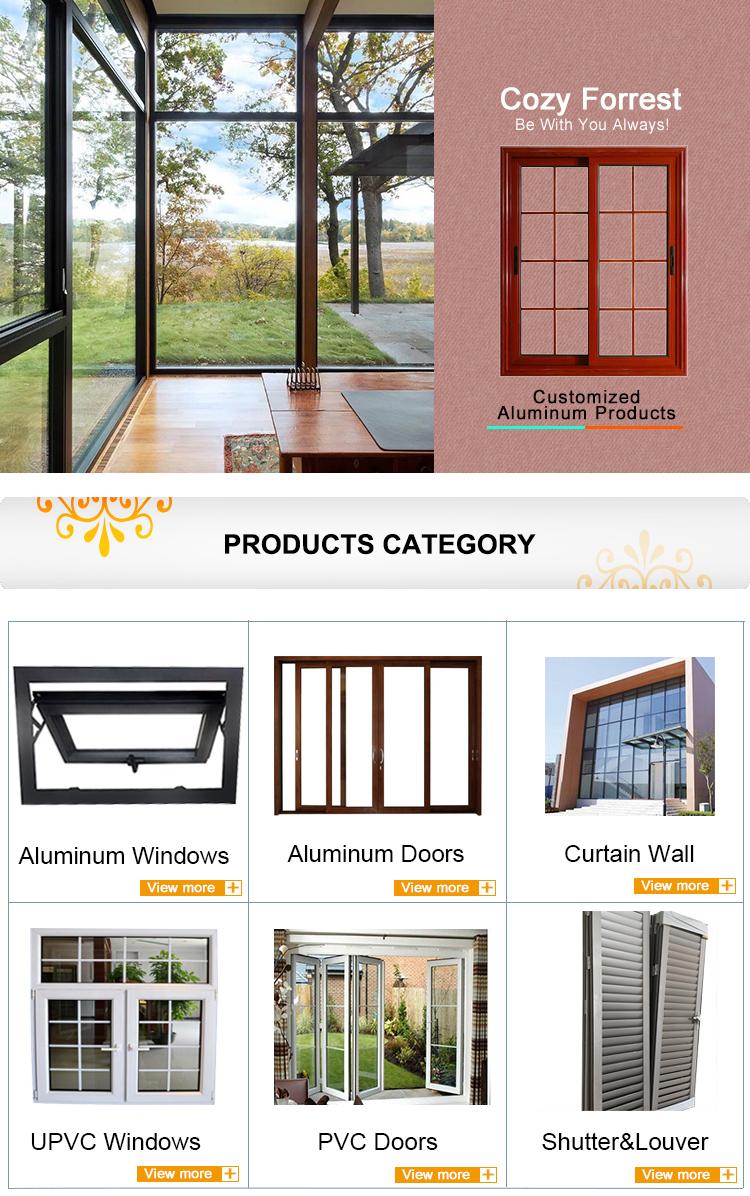 awning pvc windows