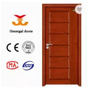 Selected Material 6 panel Interior solid wood veneer door