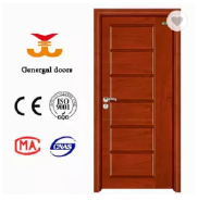 Selected Material 6 panel Interior solid wood veneer door