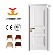 Simple design White room wood doors