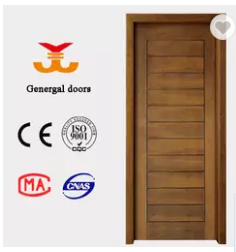 PU paint natural veneer laminated interior wood bedroom door