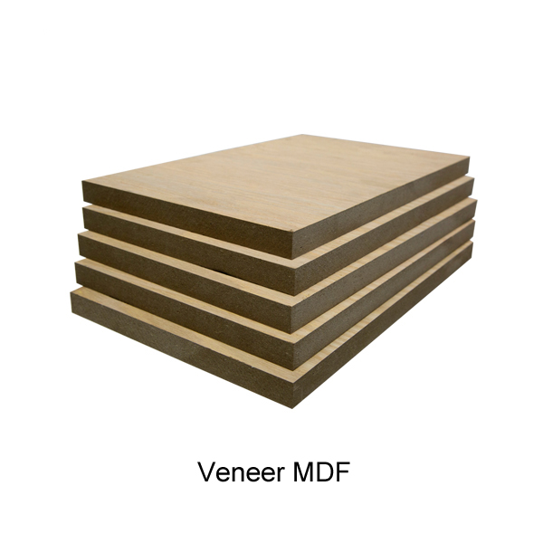 custom size raw veneer mdf board panel