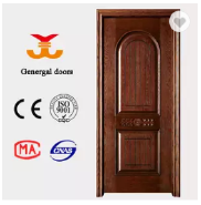 Classic interior arabic style economic solid wood door