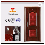 Anti-theft latest design reinforced steel secuirty door