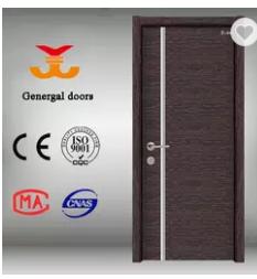 Cheap melamine wooden internal apartment doors for sale