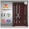 ISO Anti-theft exterior mother and son steel door
