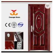 CE / ISO9001 Anti theft Security Zhejiang produce Steel Door