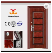 Latest design exterior Housing project security steel doors