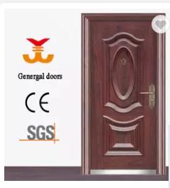 Front Entrance security modern models metal Doors