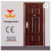 ISO9001 Exterior Yongkang Manufacturer Security Steel Door