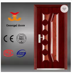 ISO9001 Cheap Price outer use steel security door