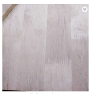 Factory supply solid wood board by birch