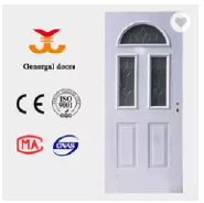 Luxury Thermal PU foam core heat resistant steel door