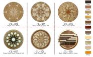 Parqutry Flooring Maple Acajou Walnut & OAK CL024
