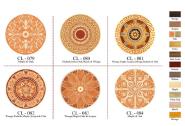 Parqutry Flooring Padauk Maple Acajou Walnut & OAK CL079