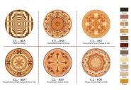 Parqutry Flooring Padauk Maple Acajou Walnut & OAK CL085