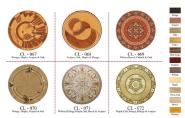 Parqutry Flooring Maple Acajou Walnut & OAK CL067