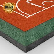 Guangdong Asher Sport Industry Co., Ltd. Rubber Flooring