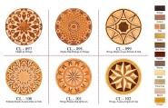 Parqutry Flooring Padauk Maple Acajou Walnut & OAK CL097