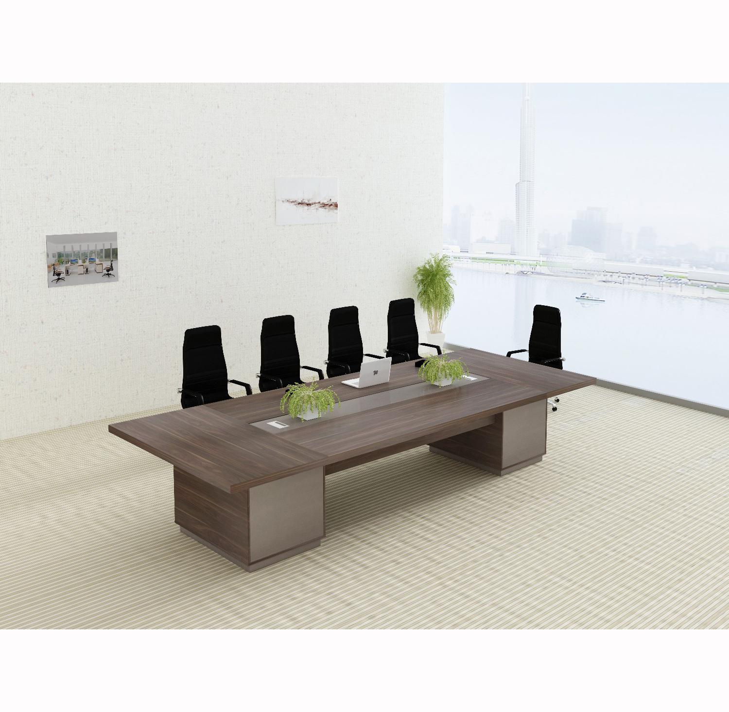 2019 Modern office furniture design luxury meeting room table  conference table