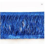 Wholesale decorative brush tassel fringe trimmings for dresses lace curtain fringe trimming