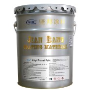 JIANBANG Resistant to chemical corrosion Alkyd Enamel Paint for Steel structure ships