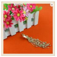 High quality metal tassel fringe for dresses curtain T-shirt skirts bags decoration