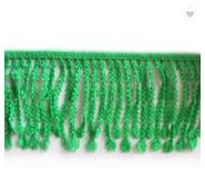 Decorative brush tassel fringe trimmings for dresses lace curtain fringe trimming tassel fringe for textile