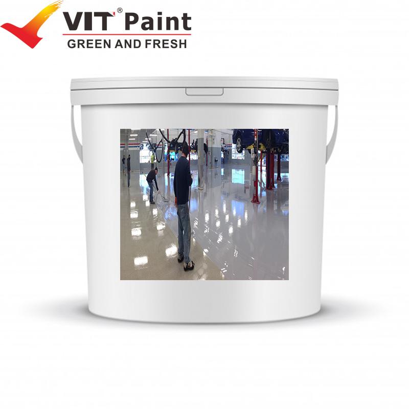 WGM-9563 Industry purpose epoxy resin floor coating Pearlescent Metallic Epoxy Floor Coating Pigment
