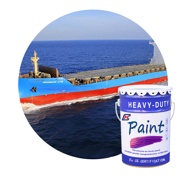 China paint factory produces red boat coating anticorrosive and antirust chlorinated rubber antirust primer