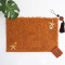 (CHAKME) Colorful Shaggy Polyester Non Slip Waterproof Chenille Rug