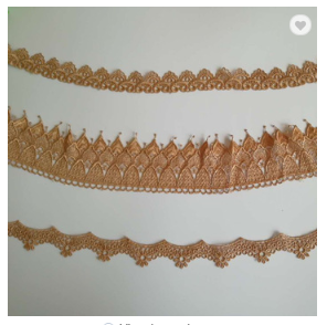 High quality embroidered fashion lace trimmings