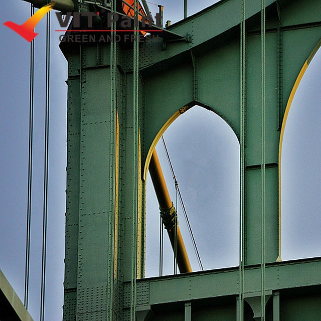 VIT weather resistance coating material metal steel work used PTFE resin fluorocarbon paint