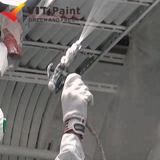 VIT Fire rated paint for structural steel, fireproof paint for steel beams, fire intumescent paint