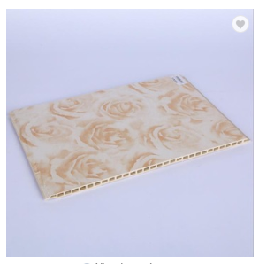 400*8mm Rose Color WPC Wall Panel High Quality Wall Cladding For Netherlands Market