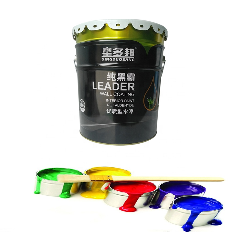 interior wall paint emulsion latex spray paint with Fresh smell health protection
