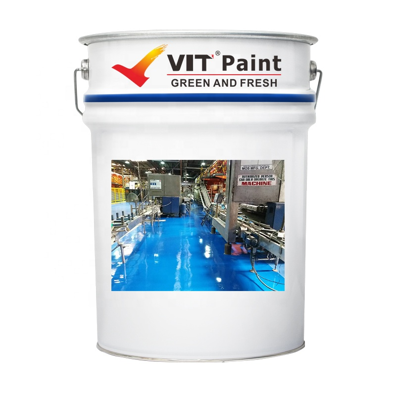 WGM-9565A VIT Epoxy Main Raw Material Liquid Coating State and Brush Application Method