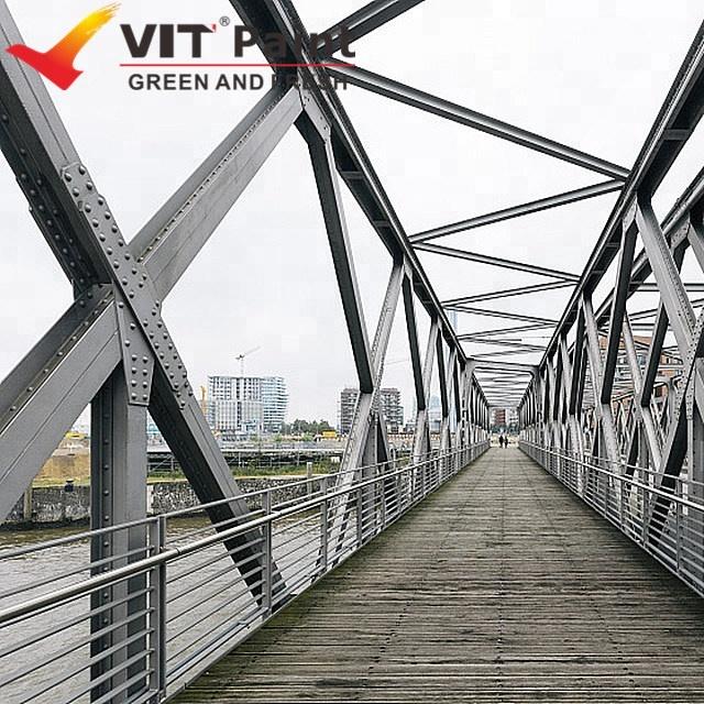 VIT PTFE fluorocarbon corrosion resistant prefabricated house steel coatings paint