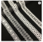 High quality cheap wedding decorative embroidered mesh white crochet lace trim from China for garment