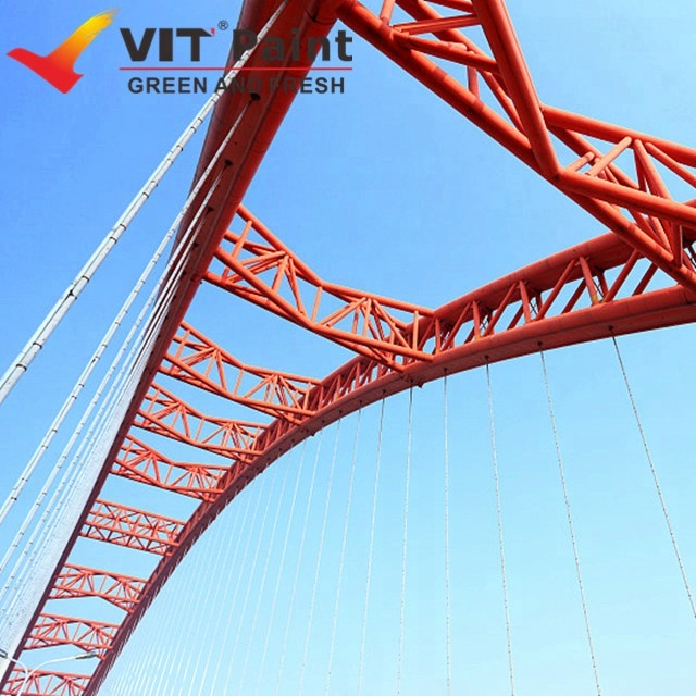 VIT Steel structure building anti corrosion PTFE industrial steel coating